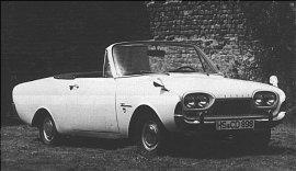 """Ford Taunus 17 M """"Deutsch""""-Cabrio"""