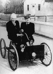 Henry Ford und Gattin Clara Bryant