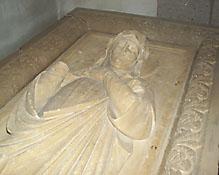 Sarkophag der Kirchengründerin Ida