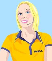Anna von IKEA