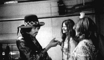 Janis Joplin und Jimi Hendrix