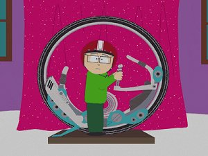 Monowheel in »South Park«
