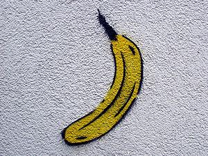 Der Bananensprayer Thomas Baumgärtel