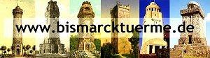 Bismarcktürme und Bismarcksäulen