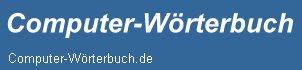 Computer-Wörterbuch