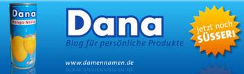 Dana - Blog für persönliche Produkte