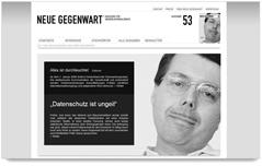Neue Gegenwart - Magazin für Medienjournalismus
