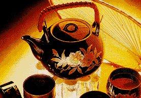 Ein Buch über Tee