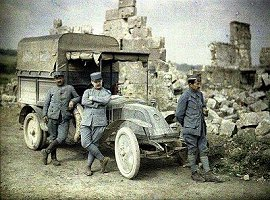 World War I Color Photos