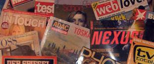 Das Zeitschriftenblog