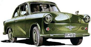 Trabant P 50 (Prospektbild 1958)