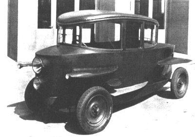 Der erste Tropfenwagen 1921
